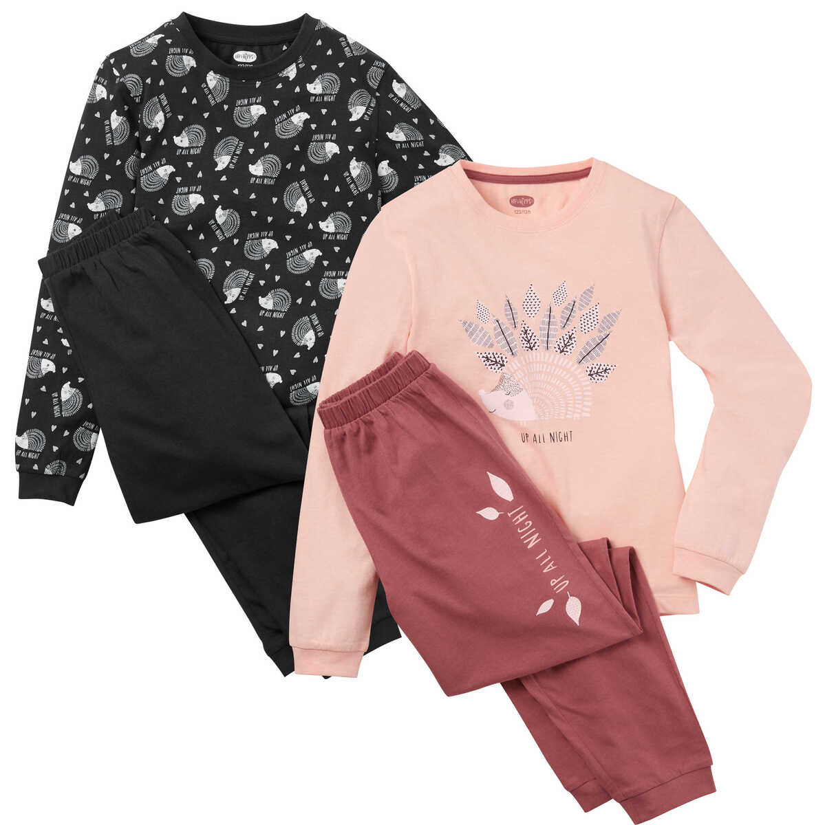 Bild 1 von HIP&HOPPS®  Mädchen-Pyjama