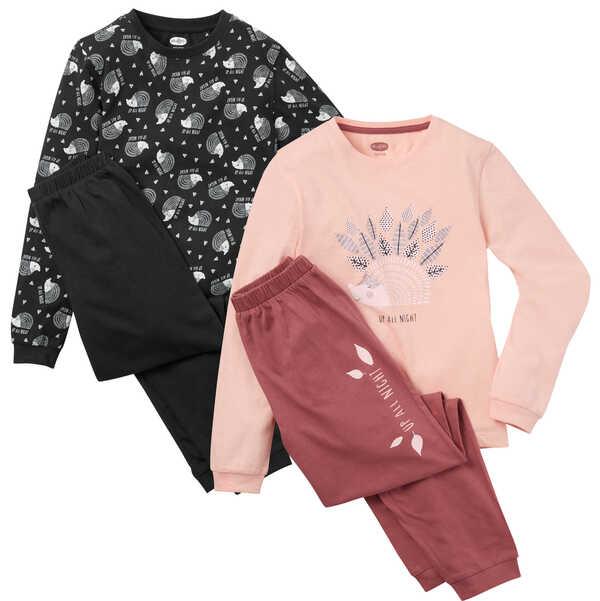 HIP&HOPPS®  Mädchen-Pyjama