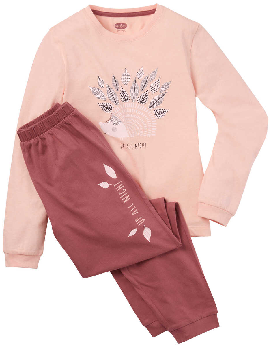 Bild 2 von HIP&HOPPS®  Mädchen-Pyjama