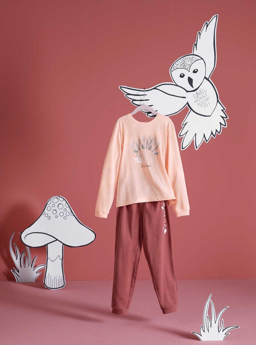 Bild 4 von HIP&HOPPS®  Mädchen-Pyjama