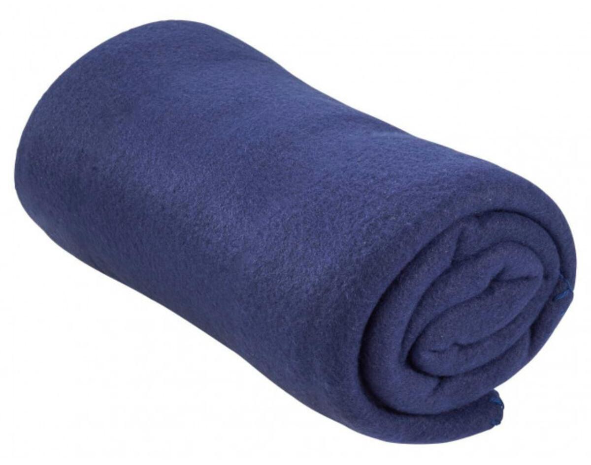 Fleecedecke dunkelblau 130 x 160 cm von POCO