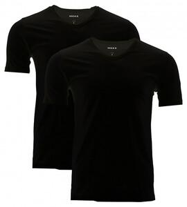 MEXX Herren Unterzieh-Shirts, schwarz