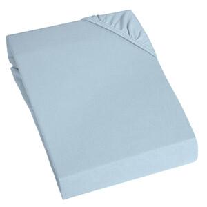 Home Ideas Living Thermo Fleece Spannbettuch, blau