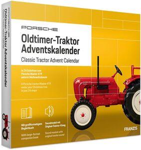 Adventskalender Porsche Traktor