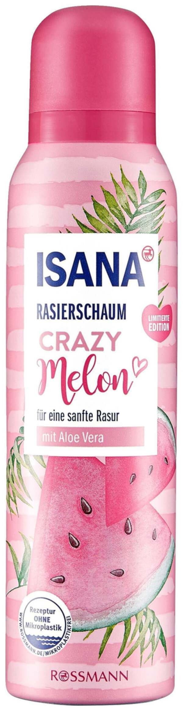 ISANA Rasierschaum Crazy Melon
