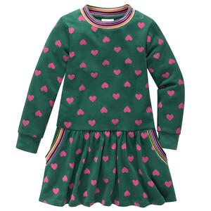 Baby Kleid mit Herz-Allover