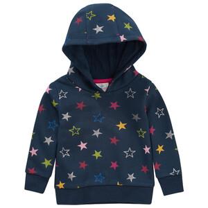 Baby Hoodie mit Stern-Allover