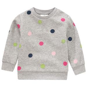 Baby Sweatshirt mit Punkte-Allover