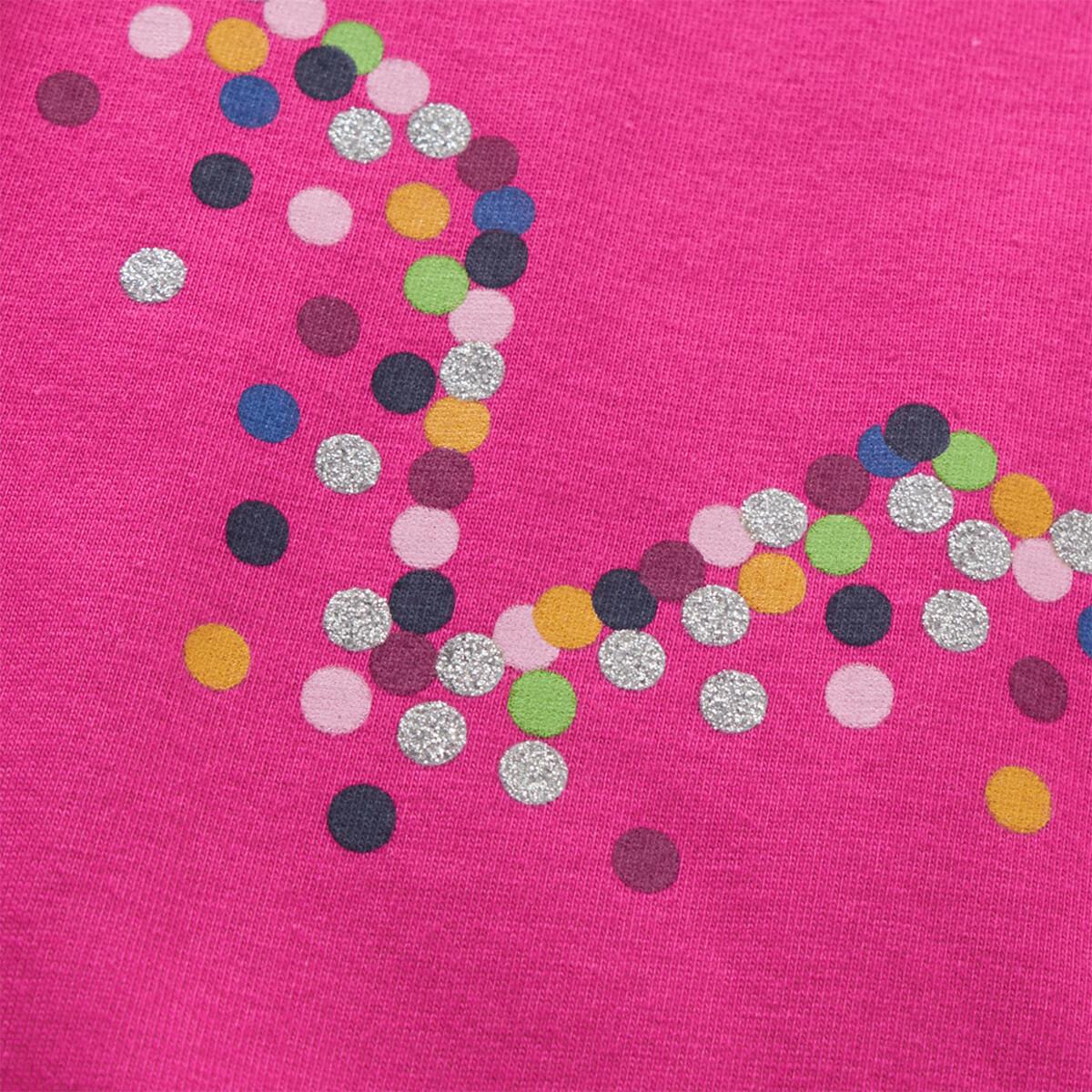 Bild 4 von Mädchen Langarmshirt mit Sternen-Print