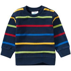 Baby Sweatshirt mit bunten Ringeln