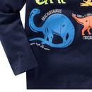 Bild 4 von Jungen Langarmshirt mit Dino-Print