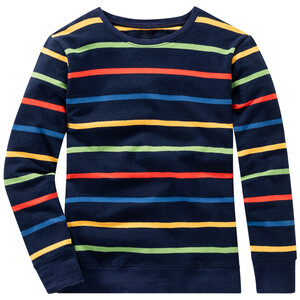 Jungen Sweatshirt mit bunten Ringeln