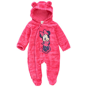 Minnie Maus Fleece-Overall mit Kapuze