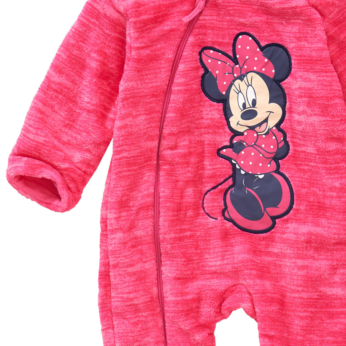 Bild 3 von Minnie Maus Fleece-Overall mit Kapuze