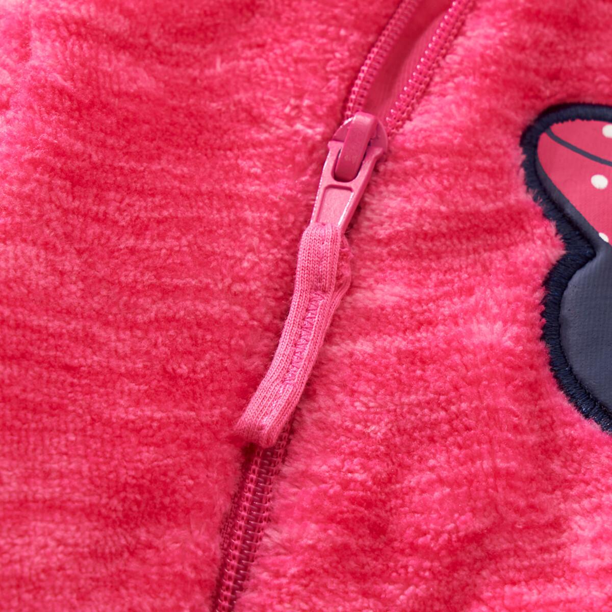 Bild 5 von Minnie Maus Fleece-Overall mit Kapuze