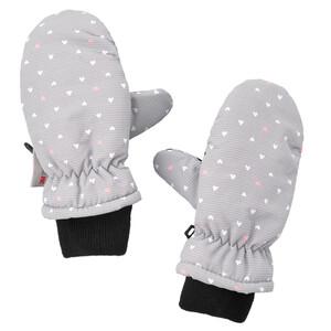 Baby Handschuhe mit Herz-Allover