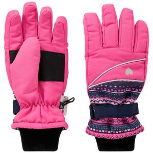 Mädchen Handschuhe mit Norweger-Muster