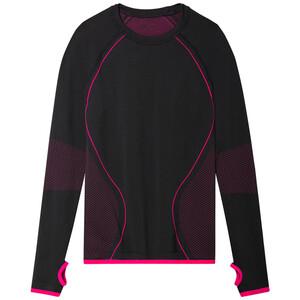 Mädchen Thermoshirt mit pinken Details