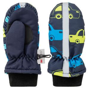 Baby Handschuhe mit Auto-Allover
