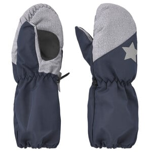Baby Handschuhe mit Stern-Motiv