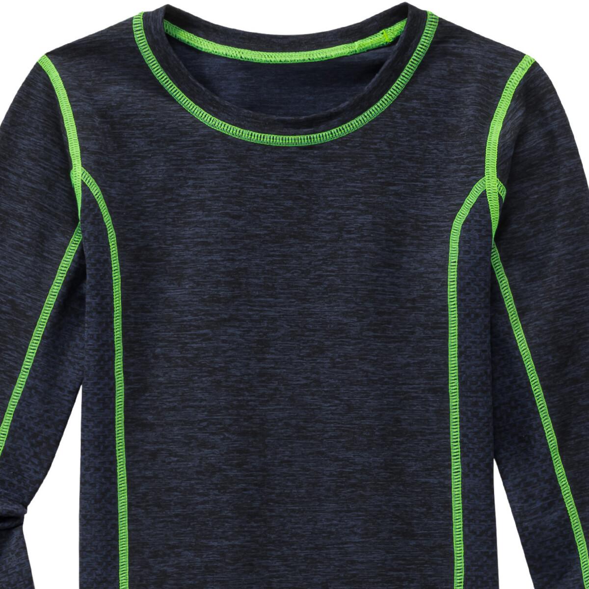 Bild 2 von Jungen Thermoshirt mit Ziernähten