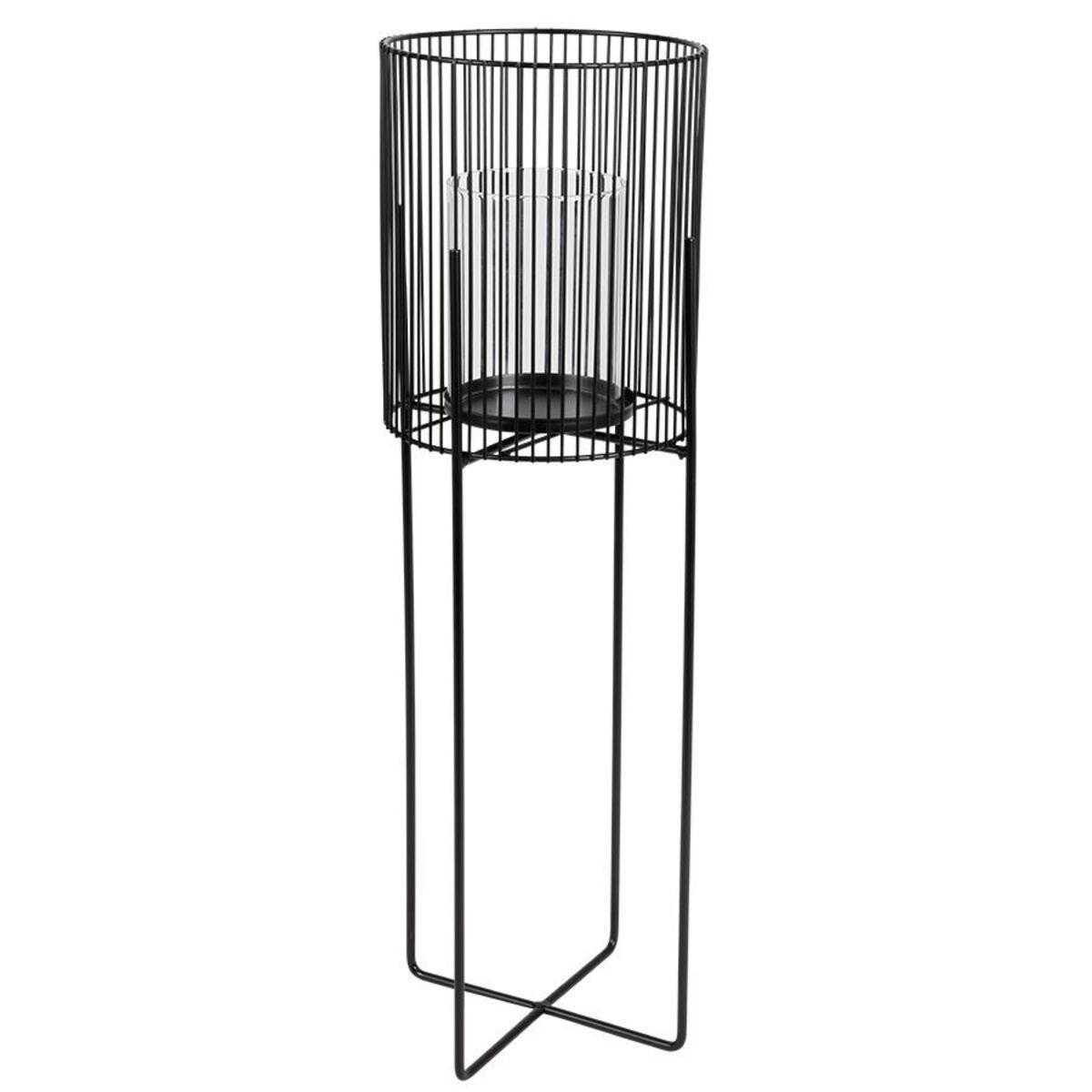 Bild 3 von Metall-Windlicht mit Glaseinsatz 63cm