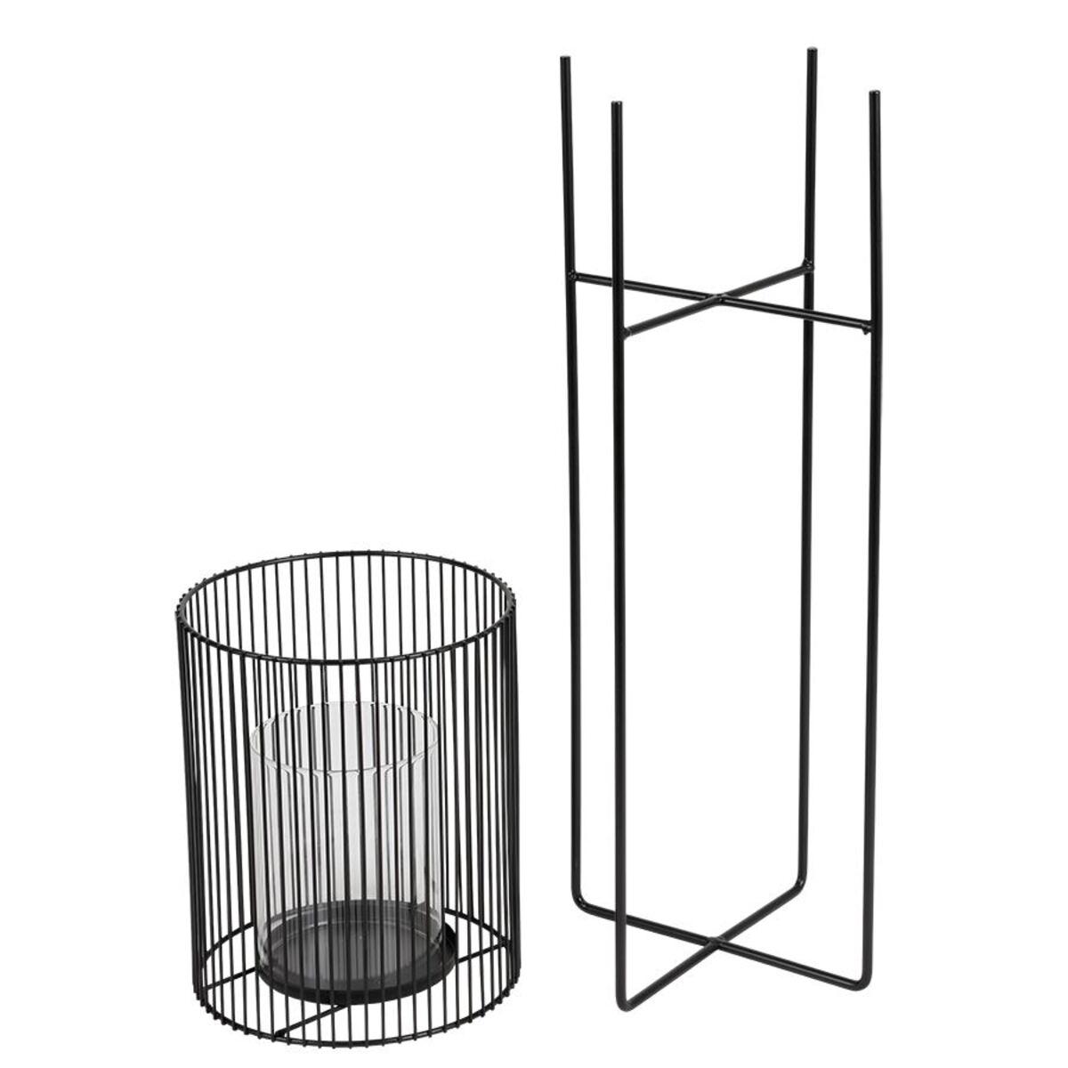 Bild 4 von Metall-Windlicht mit Glaseinsatz 63cm