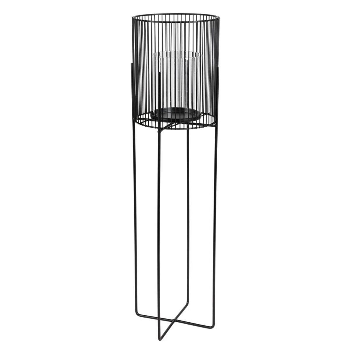 Bild 3 von Metall-Windlicht mit Glaseinsatz 73cm