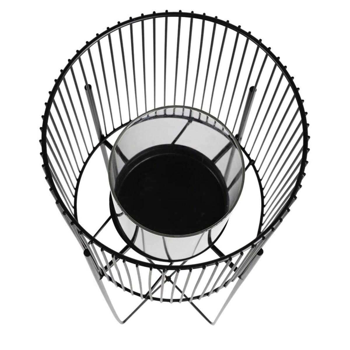 Bild 5 von Metall-Windlicht mit Glaseinsatz 73cm