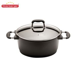 Steinberger Aluguss-Profi-Kochtopf 4,3L 24cm