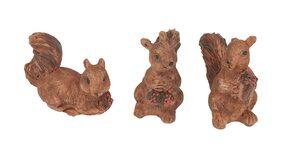 VBS Dekofigur »Mini Eichhörnchen«, 3 Stück
