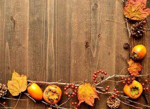 Platzset, »Tischsets I Platzsets - Herbstdeko mit Beeren & Laub - 12 Stück aus hochwertigem Papier 44 x 32 cm«, Tischsetmacher