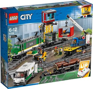 LEGO® Konstruktions-Spielset »LEGO 60198 City: Güterzug«