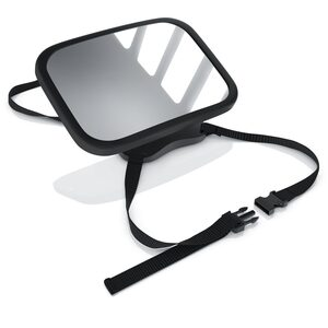 Aplic Baby Autospiegel 360° schwenkbar mit verstellbaren Trägern »Spiegeloberfläche mit 23x16cm«