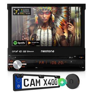 Neotone »MEX-N1210, SMB-B240, CAM-X400« Autoradio (SET)