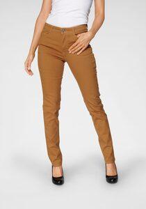 MAC Stretch-Jeans »Melanie Divided« Streckender Einsatz am Bein
