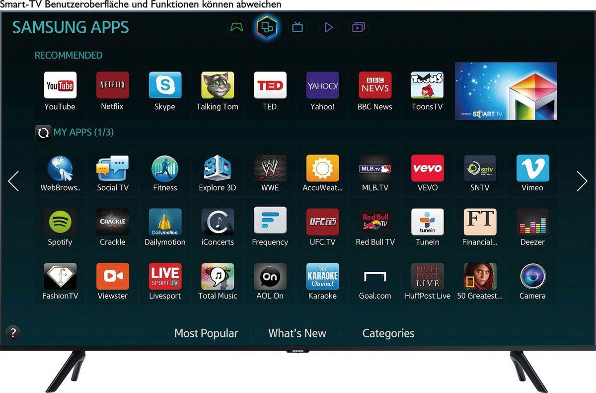 Bild 2 von Samsung GU55TU8079 LED-Fernseher (138 cm/55 Zoll, 4K Ultra HD, Smart-TV)