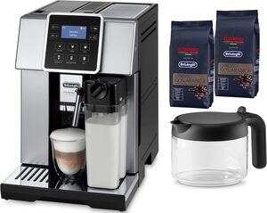 De'Longhi Kaffeevollautomat ESAM 428.80.SB PERFECTA EVO, mit Kaffeekannenfunktion, inkl. Kaffeekanne im Wert von UVP € 29,99