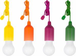 MediaShop LED Gartenleuchte »HandyLUXcolors«, kabellose LED Allzweckleuchte, 4er-Set