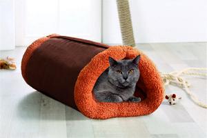 Cat Bonbon Katzentunnel 2in1 - Nougat