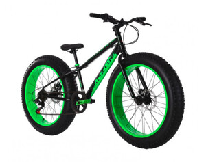 KS Cycling Mountainbike MTB 24 Zoll Fatbike SNW2458