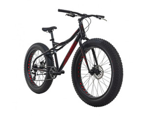 KS Cycling Mountainbike MTB Fatbike SNW2458 schwarz