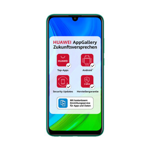 Huawei P Smart 2020 emerald green Smartphone (6,21 Zoll, 128 GB, 13 MP + 2 MP, Dual-Kamera, 3.000-mAh, Octa-Core, Fingerabdrucksensor, Dual-SIM, grün)