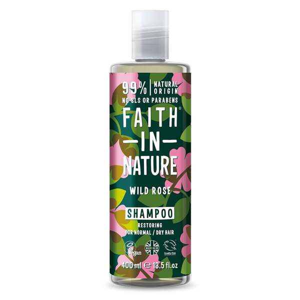 Faith in Nature Shampoo Wild Rose