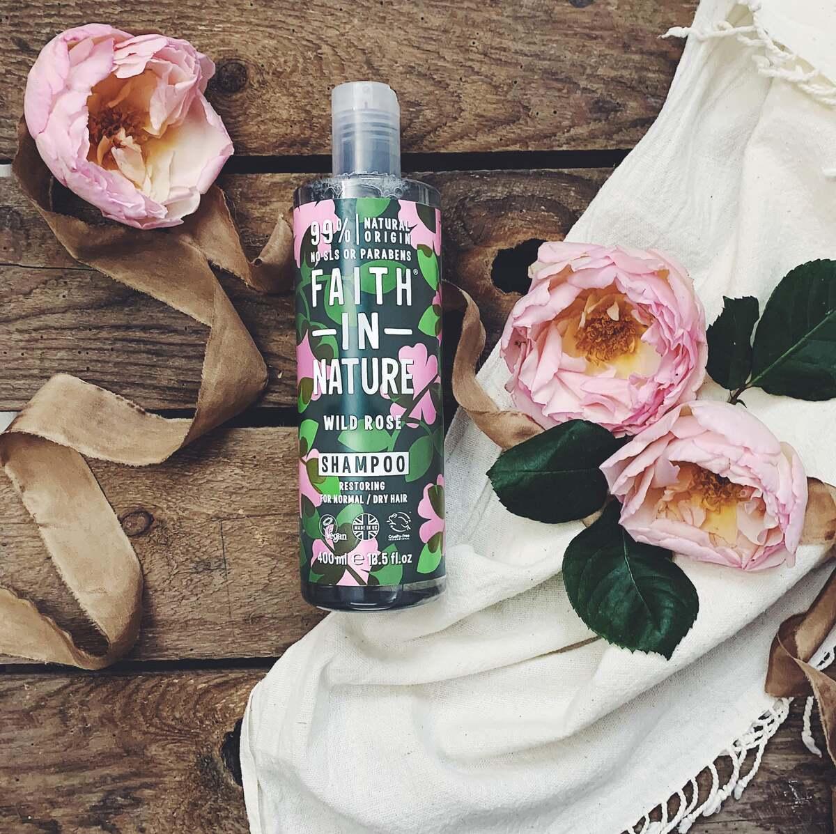 Bild 4 von Faith in Nature Shampoo Wild Rose