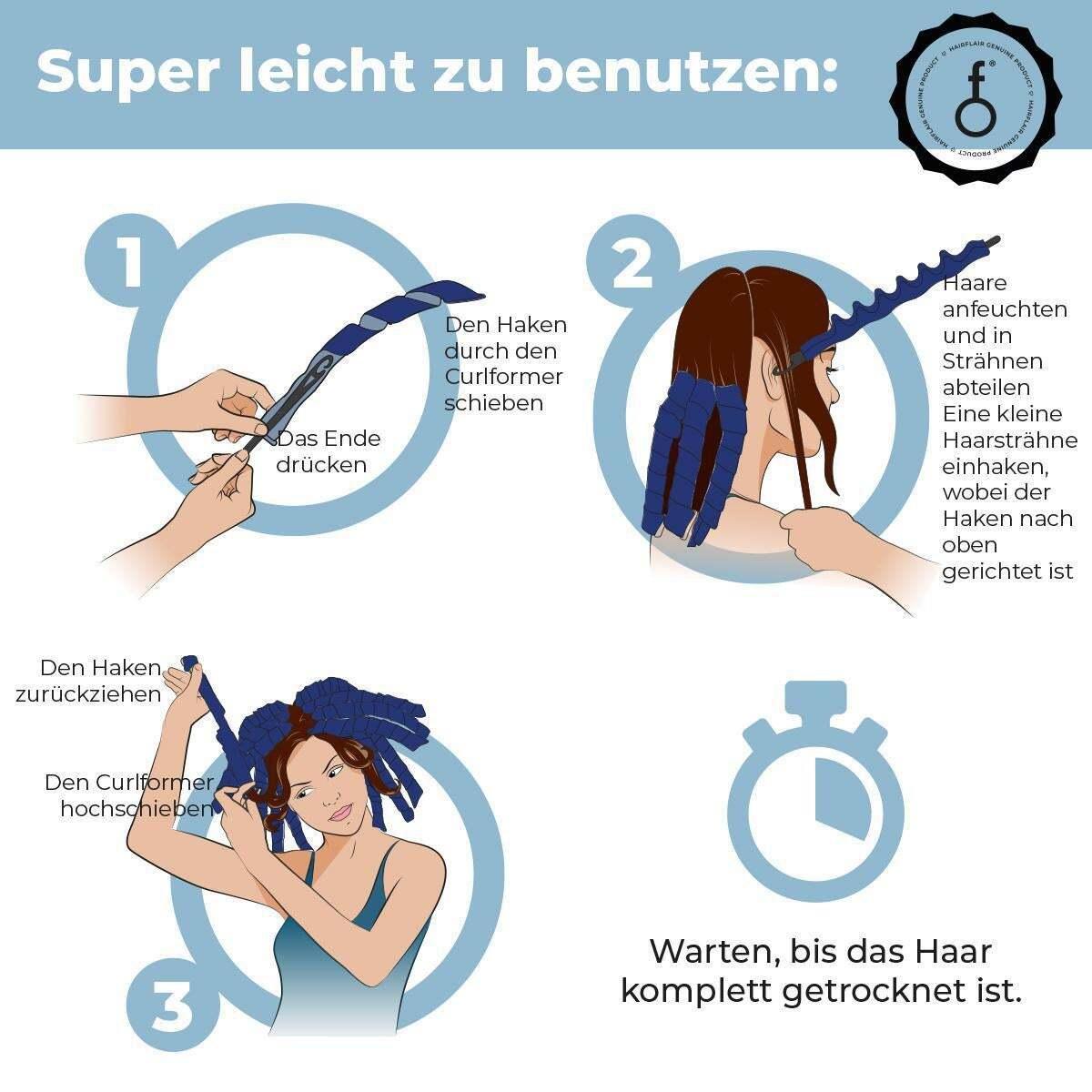 Bild 5 von Hairflair curlformers Corkscrew Curl Styling Kit