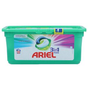 "Ariel Waschmittel Pods 3-in-1 ""Color & Style"" 25 Stück"