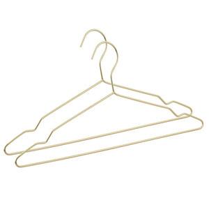 ProVida Kleiderbügel 2 Stück in Goldoptik