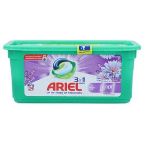 """Ariel Waschmittel Pods 3-in-1 + Lenor Floral Freshness"""" 24 Stück"""