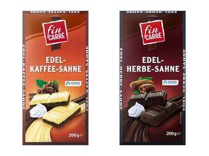 Tafelschokolade Edel-Sahne